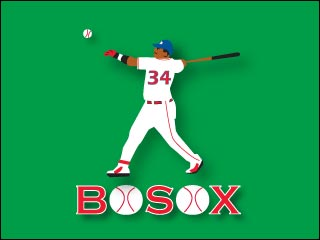 Boston Sports Note Cards by J & J Graphics