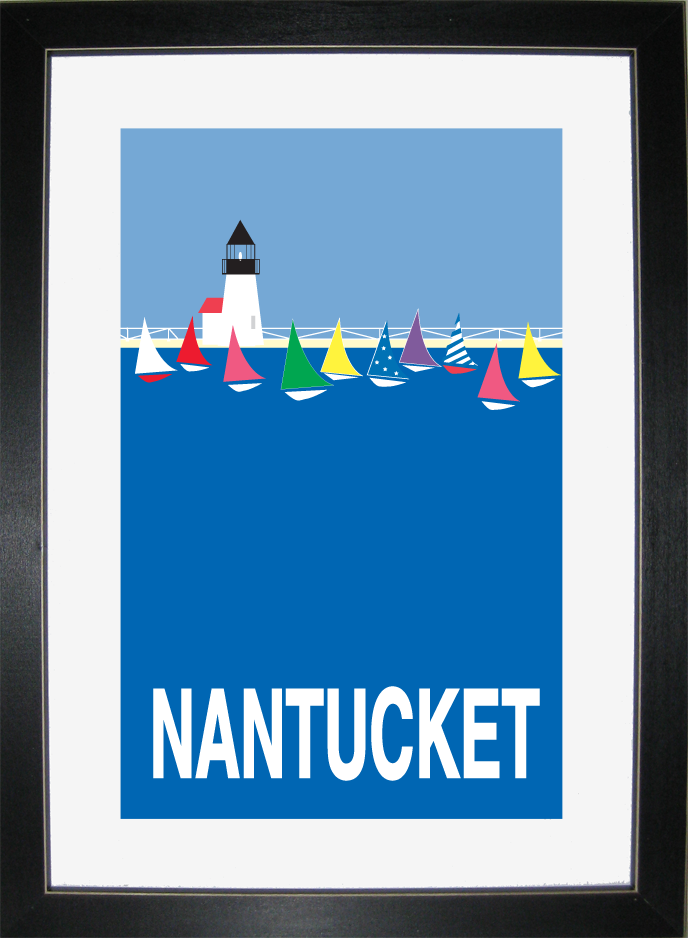 Nantucket Posters By J Amp J Graphics